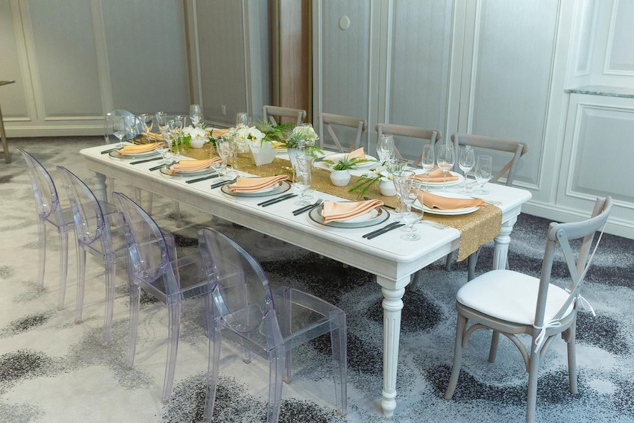 Luxury dinner party ideas