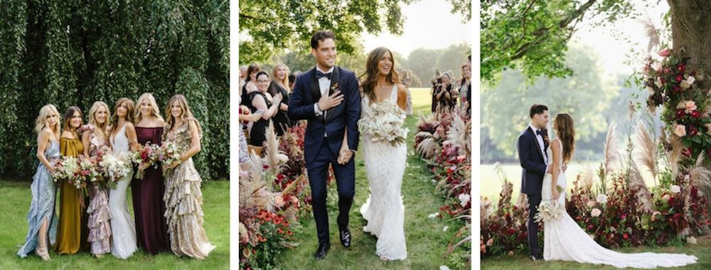 Rocky Barnes outdoor wedding