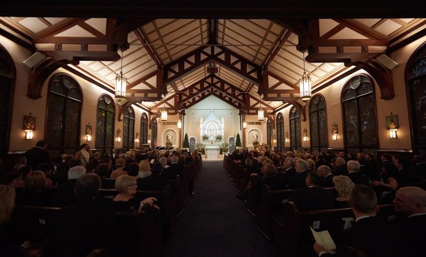 large wedding venue