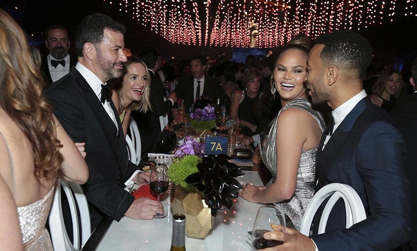 Guests at HBO Emmy's after party