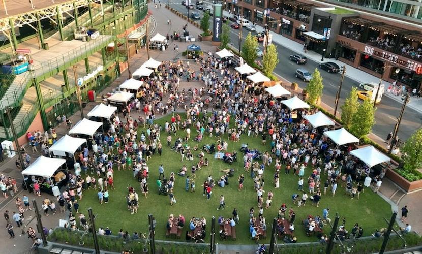 Chicago outdoor party venue