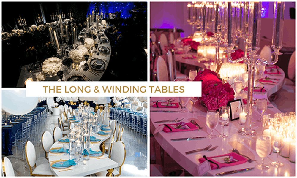 Long and winding tables