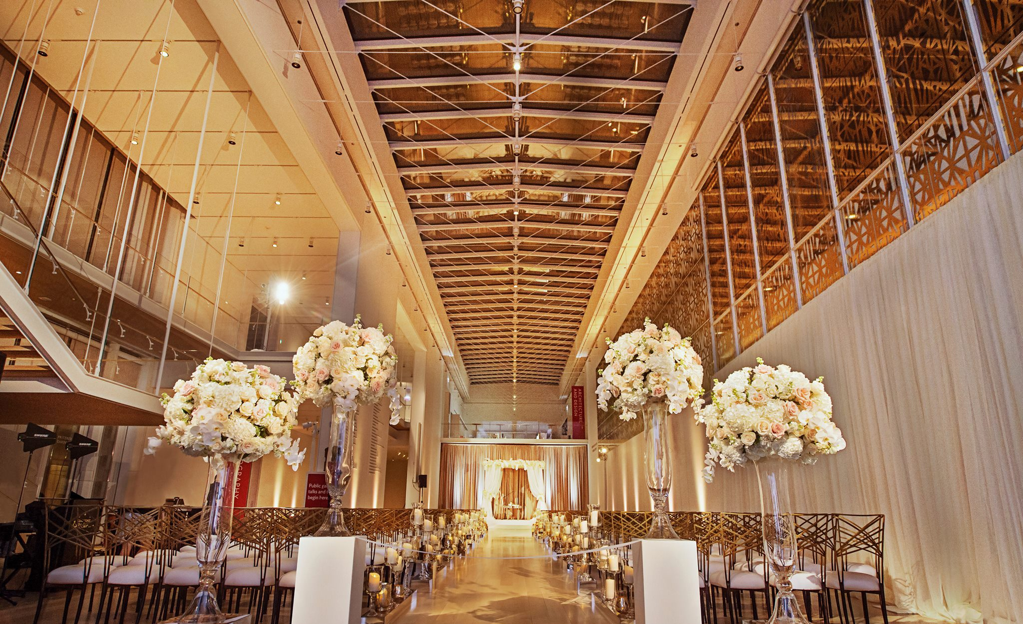 Wedding Aisle Ideas - The Modern Wing of Art Institute of Chicago