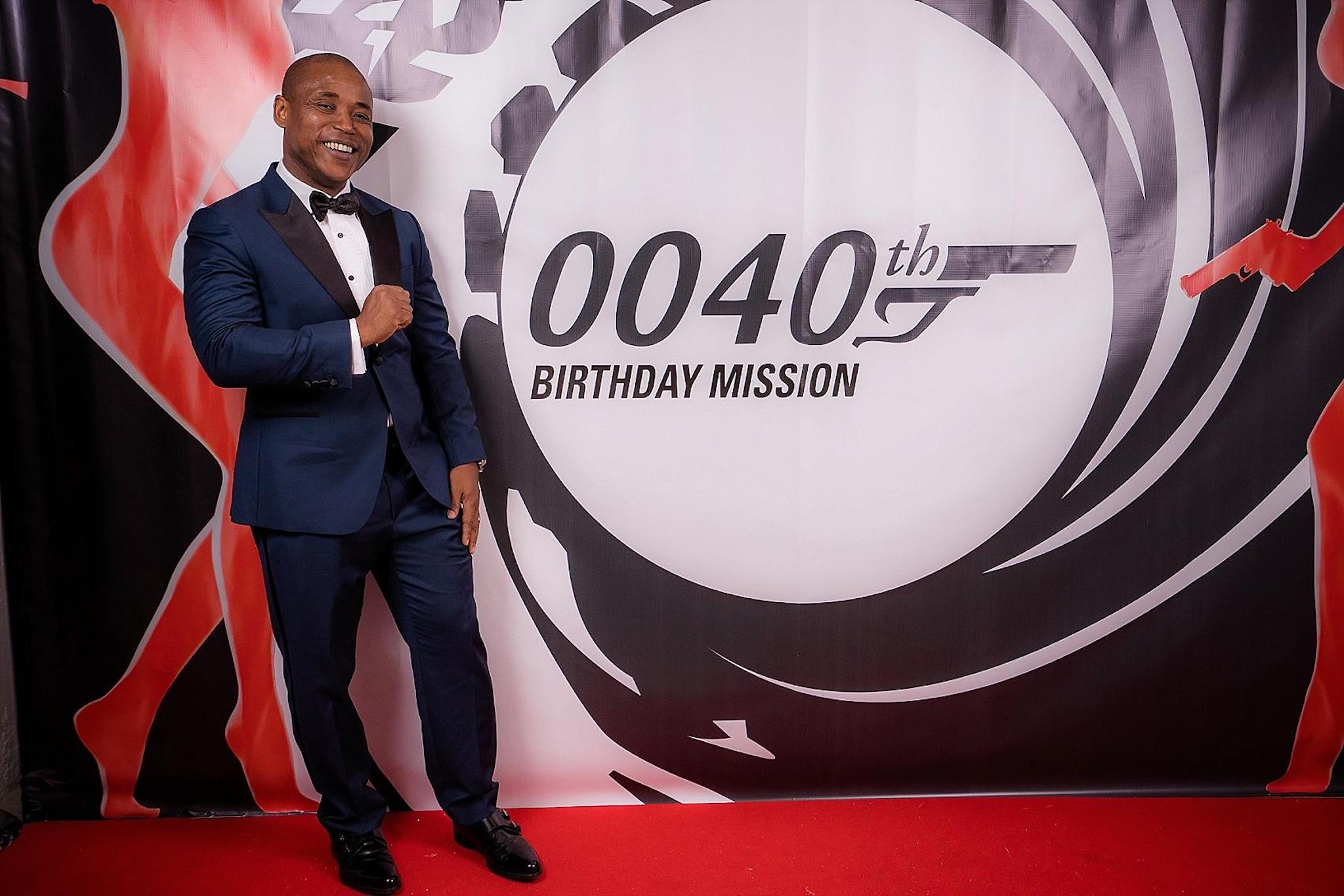 best milestone birthdays - 007 BASH