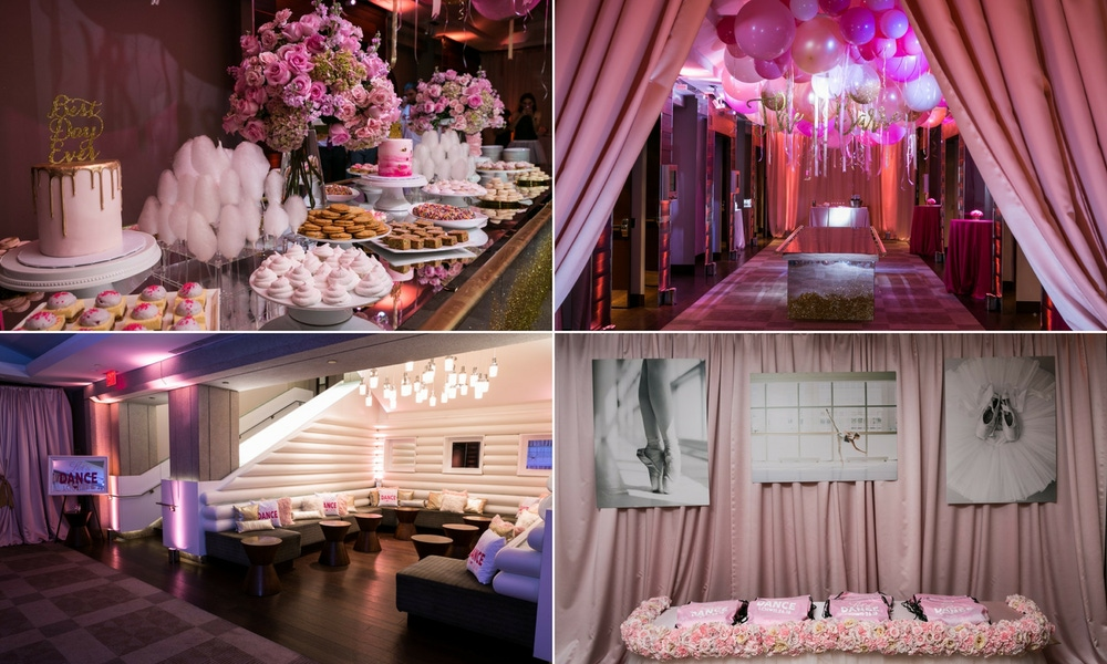 light pink party details