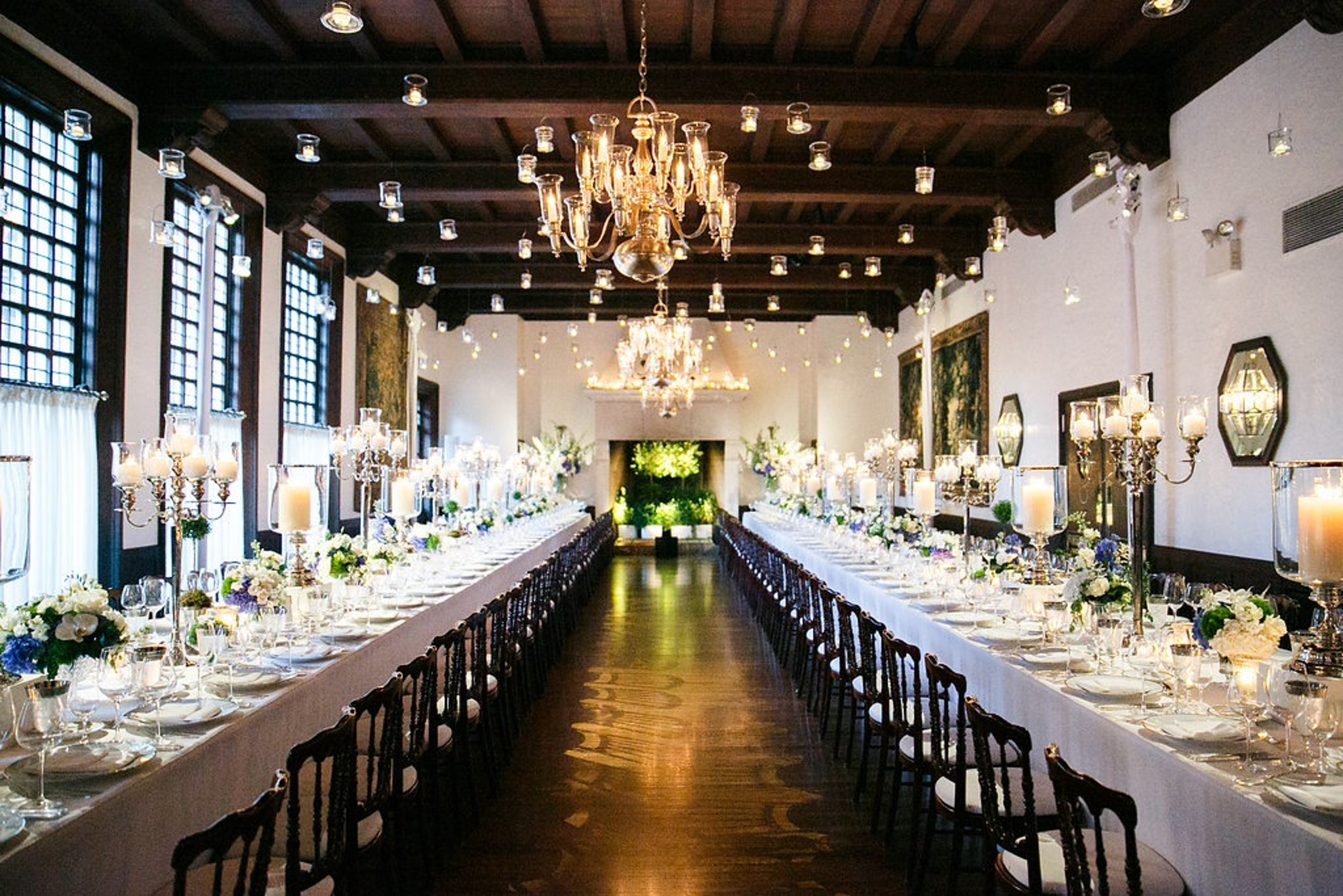 best long tables - CHICAGO RACQUET CLUB WEDDING