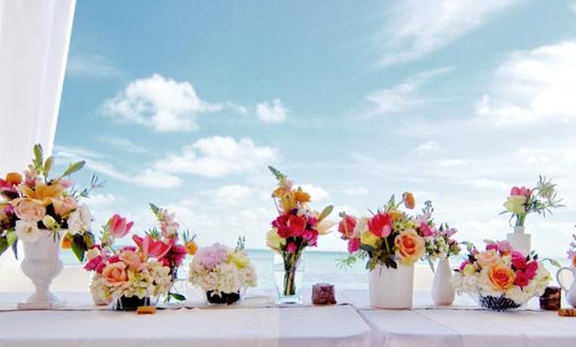 Cabo Beach Wedding idea - floral