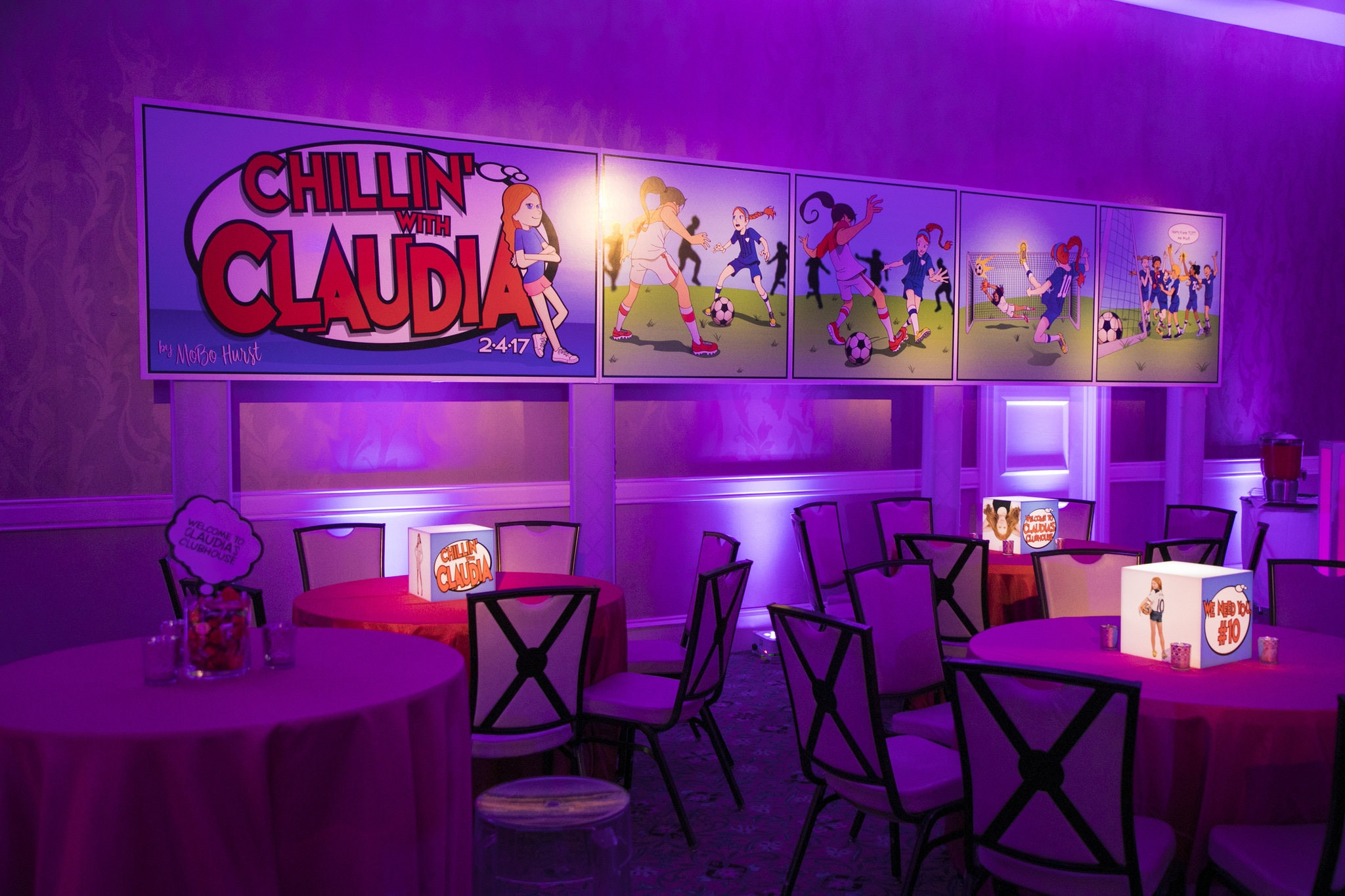 Cartoon Themed Bat Mitzvah