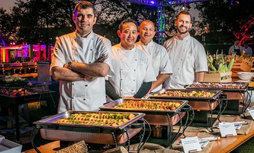 Chefs at Wolfgang Puck