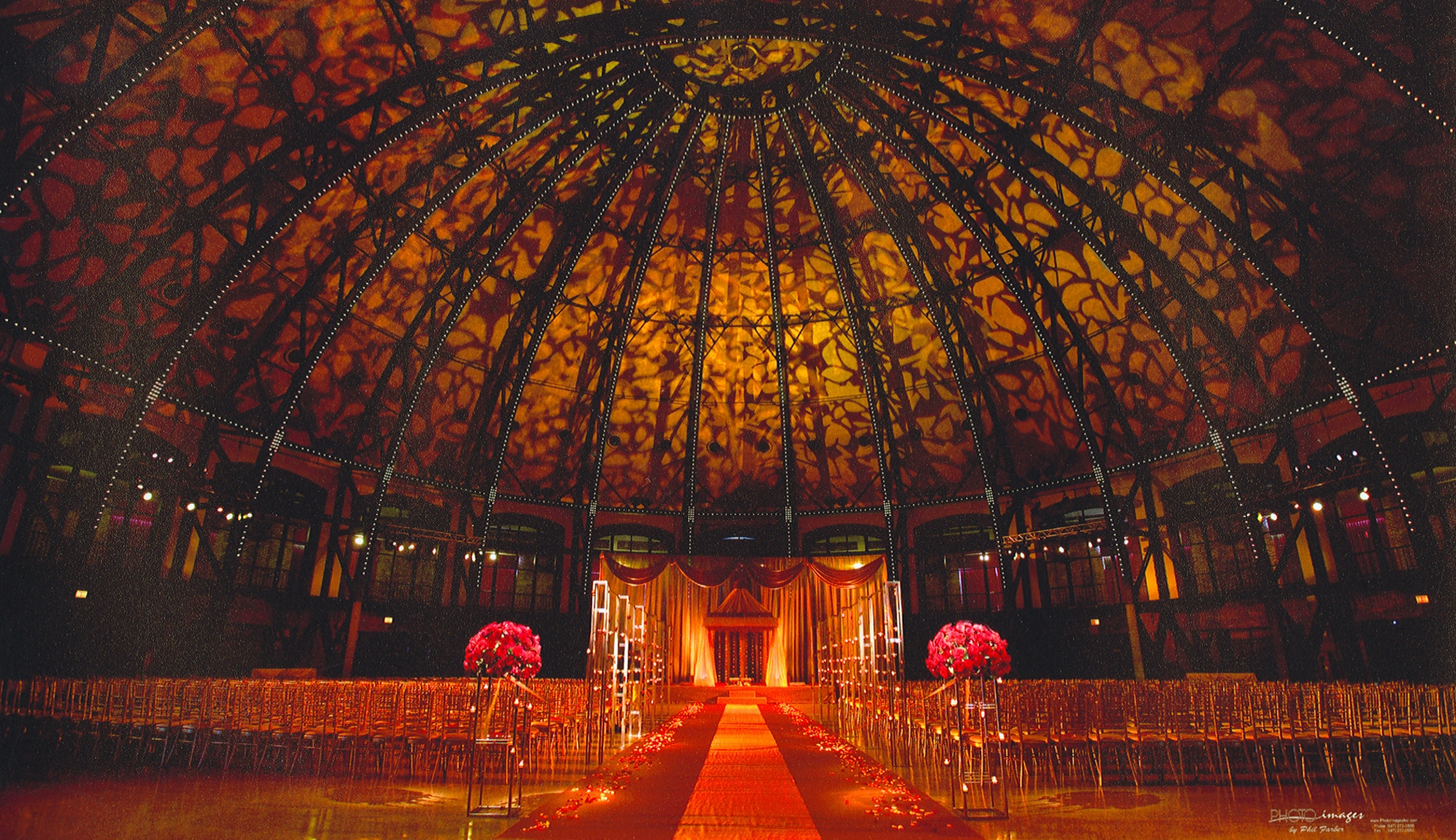Chicago Landmark - Navy Pier - DOME INDIAN WEDDING