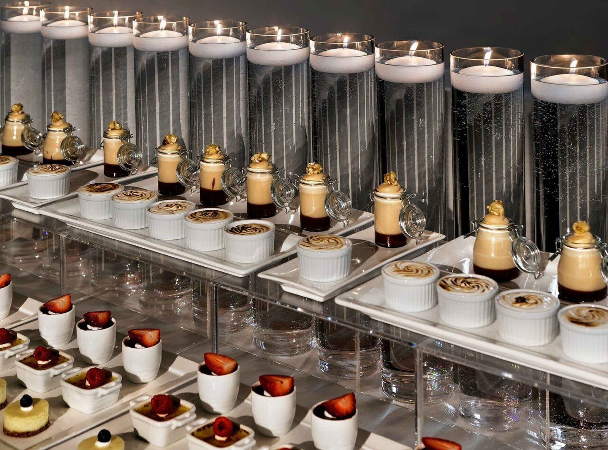 Dessert Bar by Entertaining Company Chicago Caterer