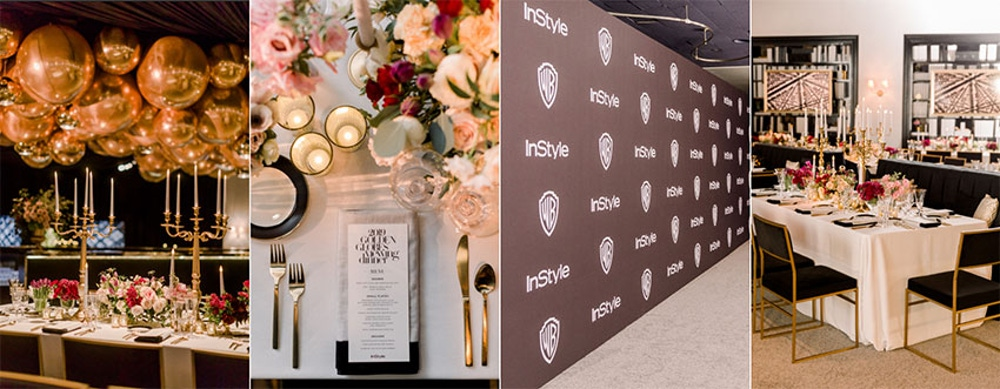 Instyle and Warner Bros party