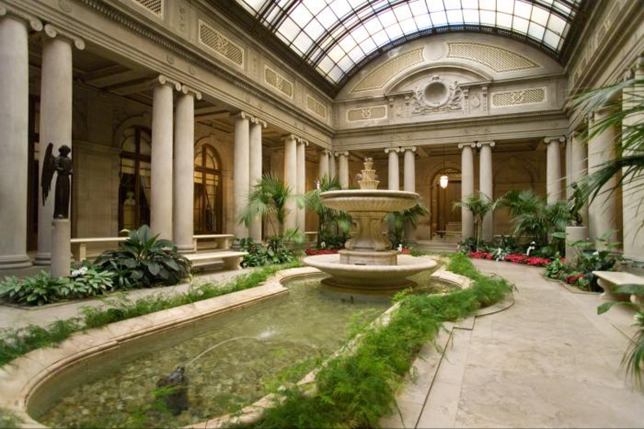 The Frick Collection - Garden Court
