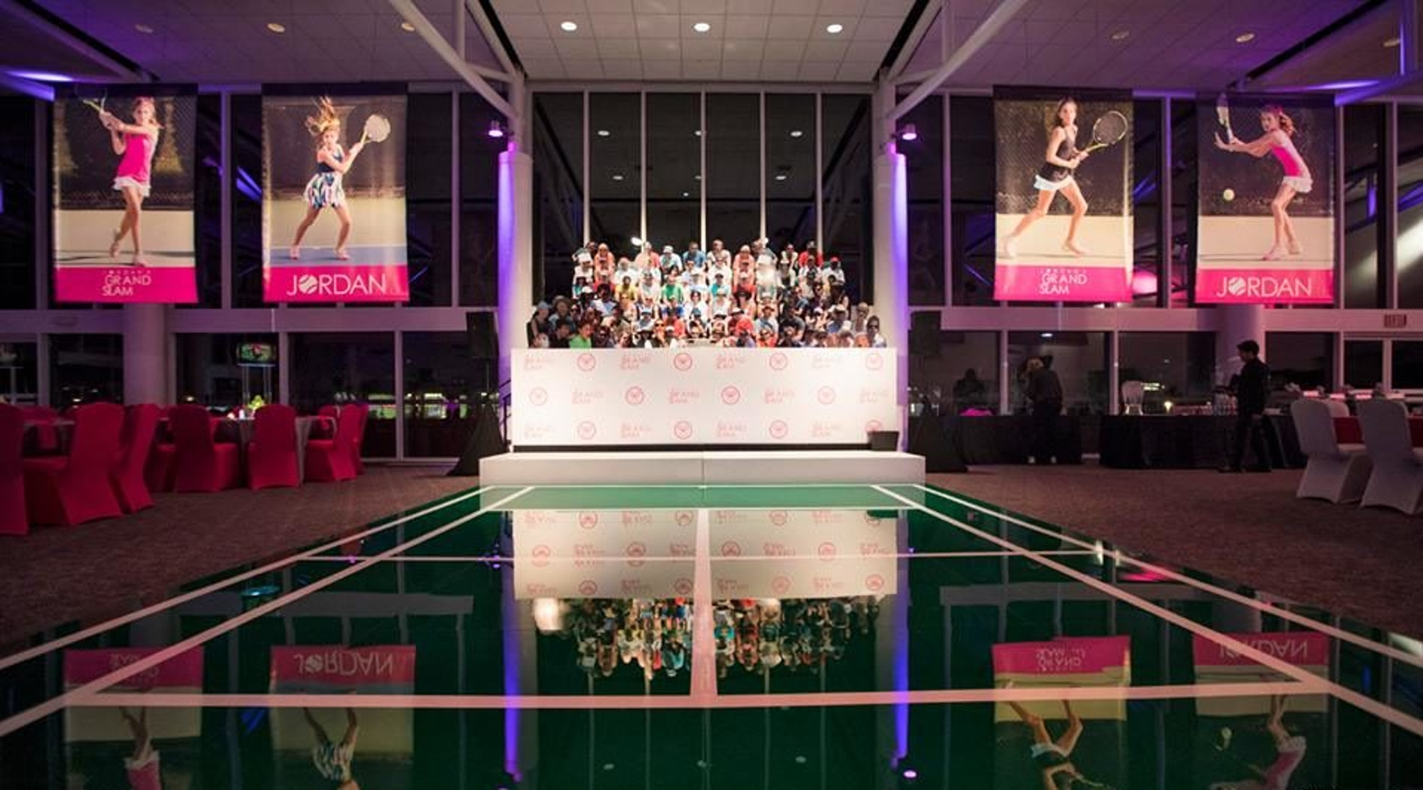 Tennis themed bat mitzvah