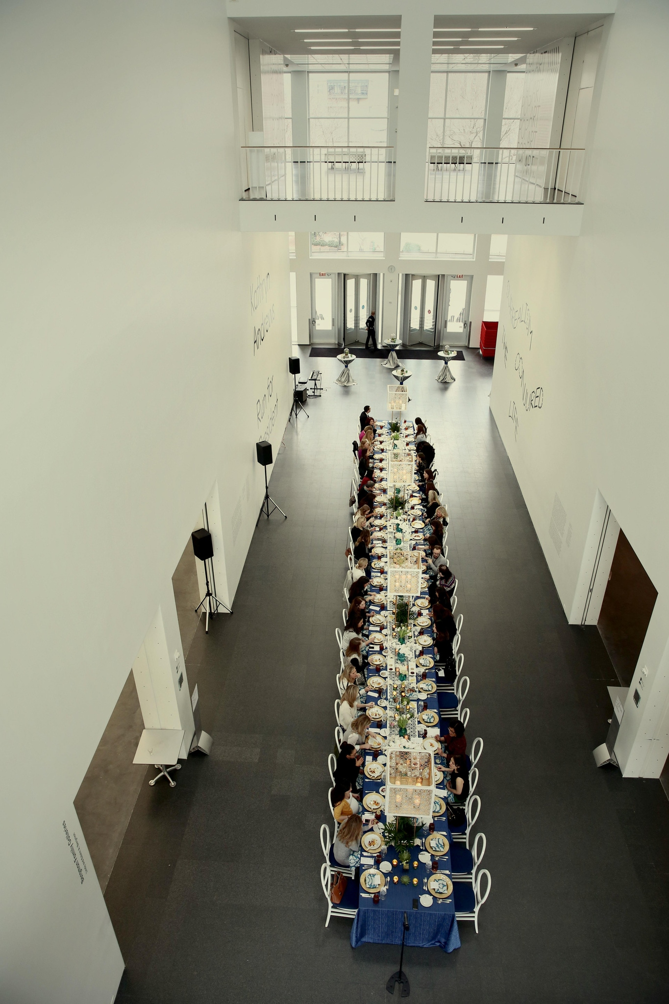 best long tables - EVENT PROFESSIONAL LUNCHEON AT THE MUSEUM OF CONTEMPORARY ART CHICAGO