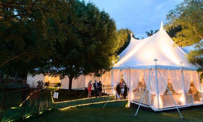 Elegant Lake Geneva Wedding - Tents