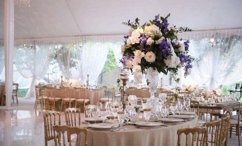 Elegant Lake Geneva Wedding - decor - floral