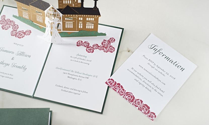LovePop Wedding Invitations Ideas