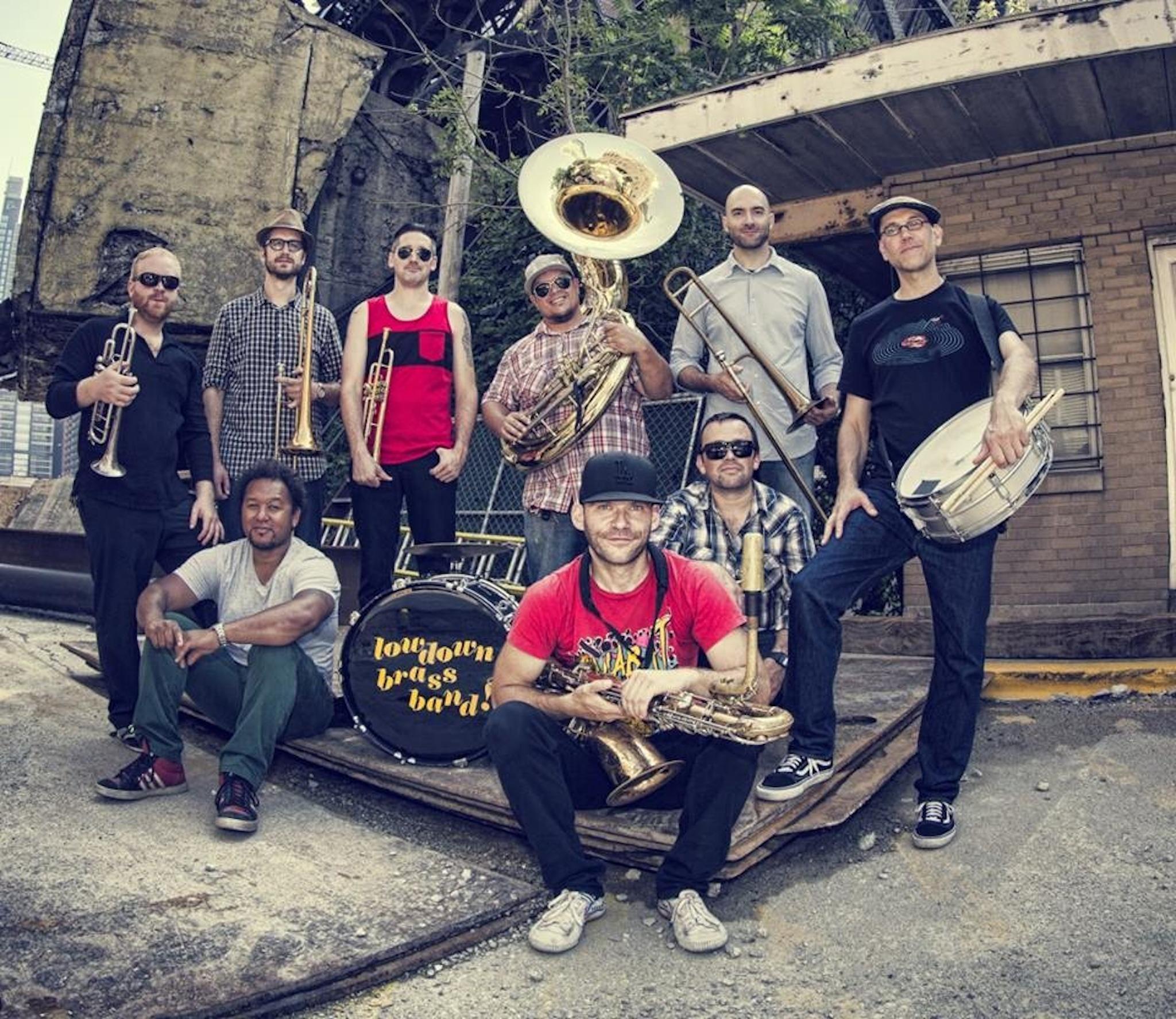 Best Chicago Wedding Bands - Lowdown Brass Band