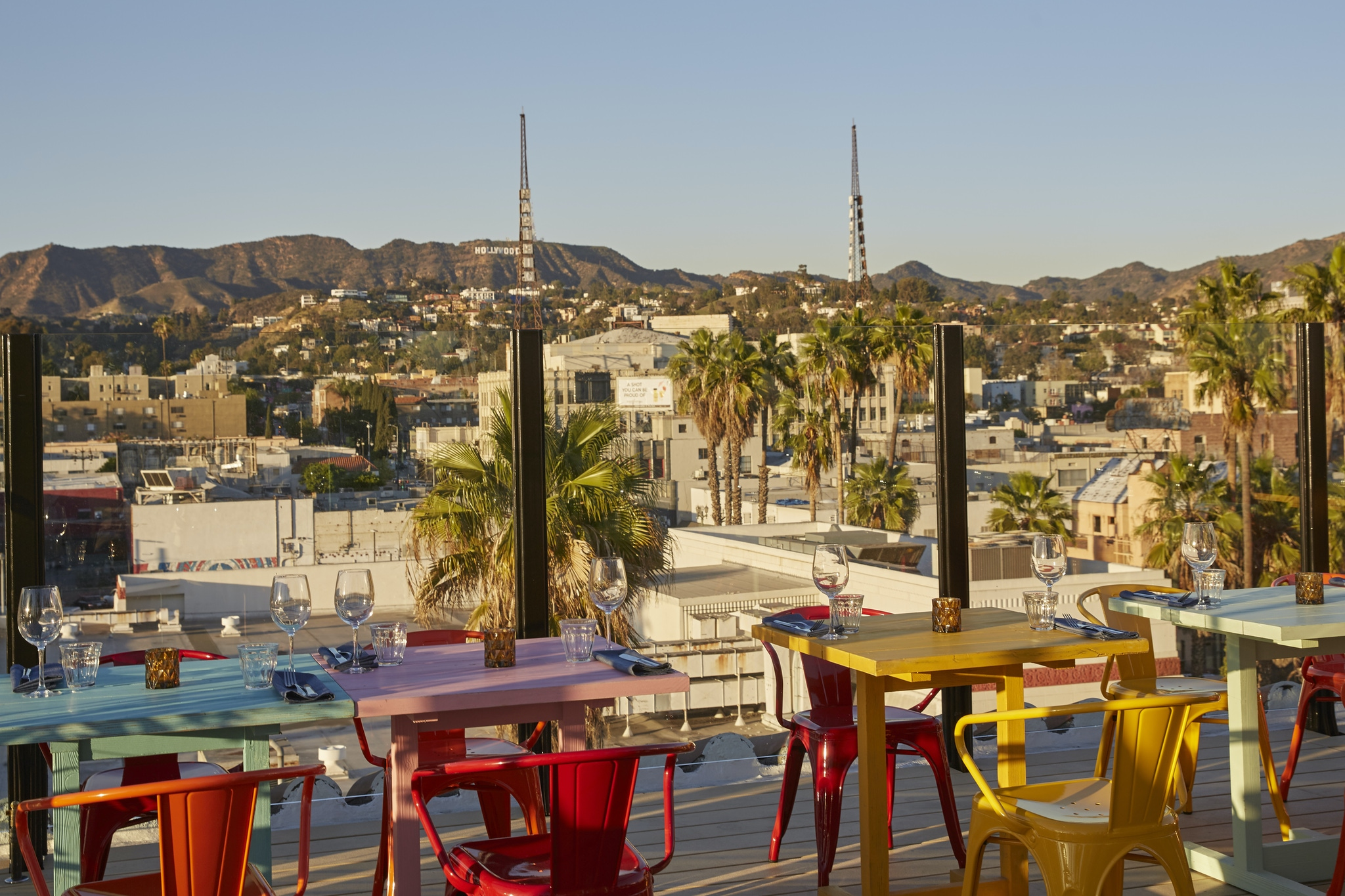 LA rooftop spaces