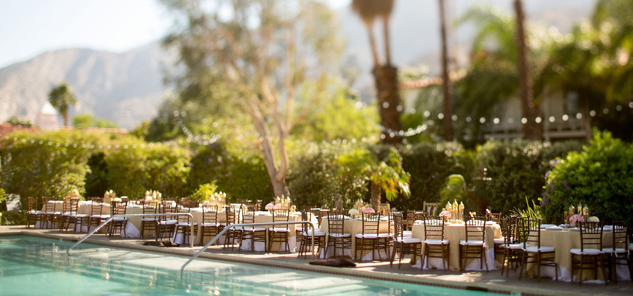 Venues in Palm Springs Colony Palms Hotel