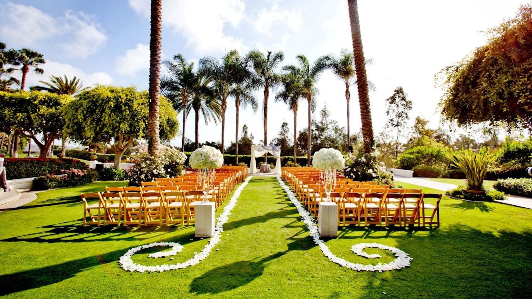 Park Hyatt Aviara Resort San Diego lawn
