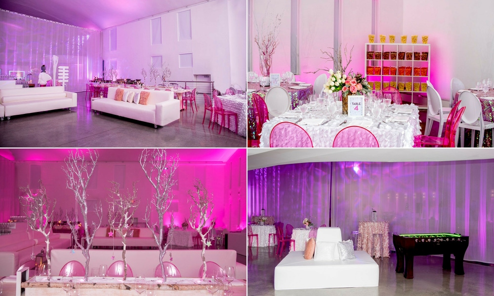 Pink winter party