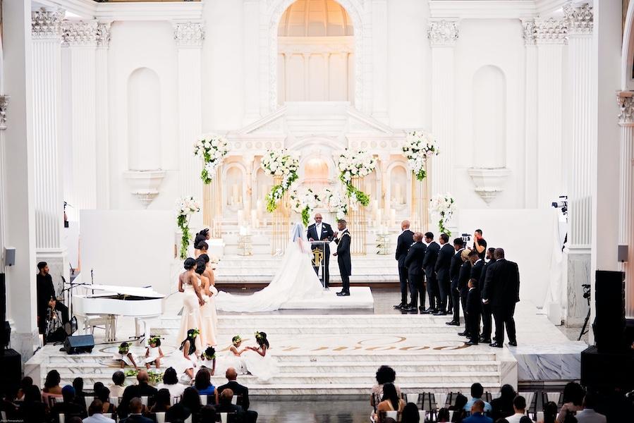 Ray j and princess love wedding altar