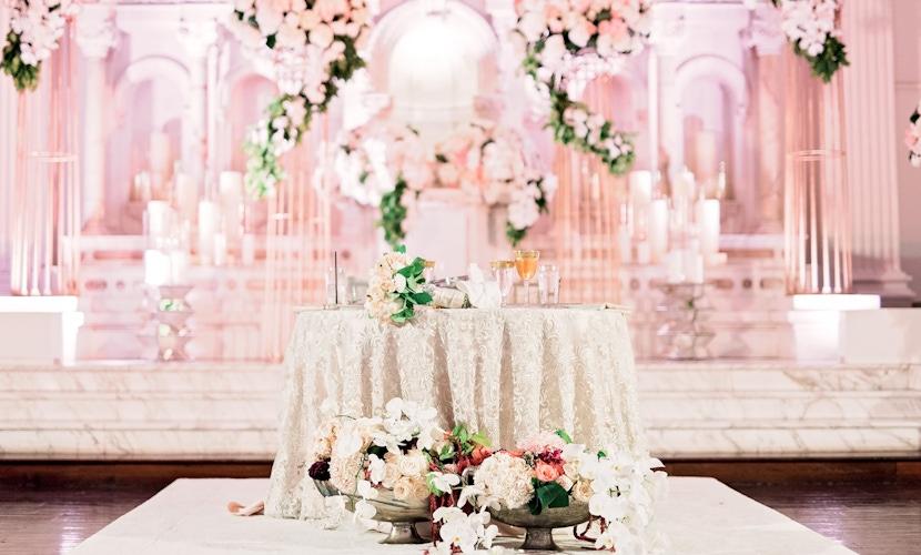 ray j and princess love wedding decor