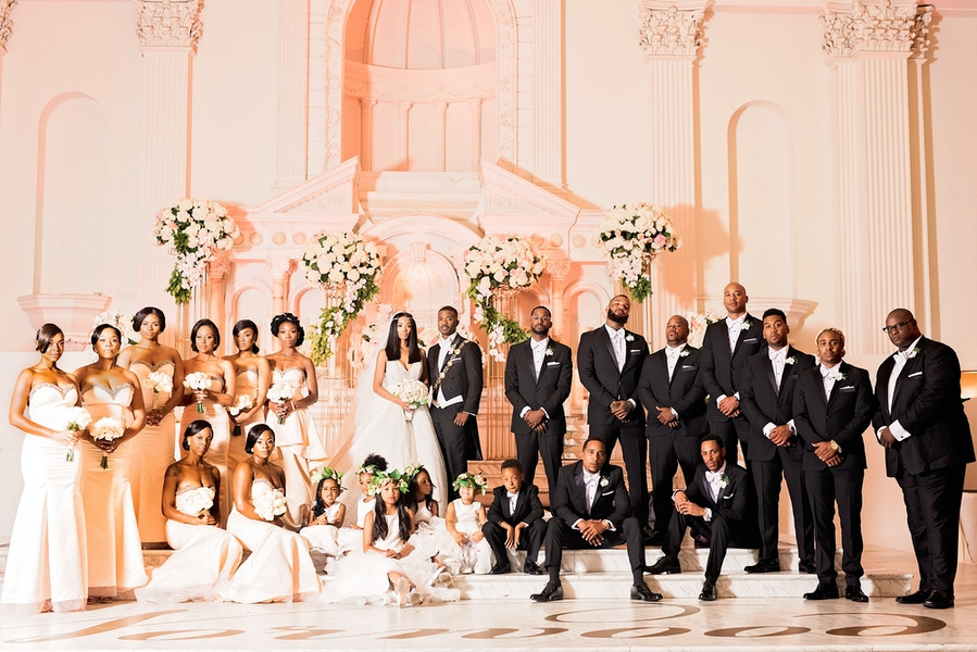 Ray J and princess love wedding party