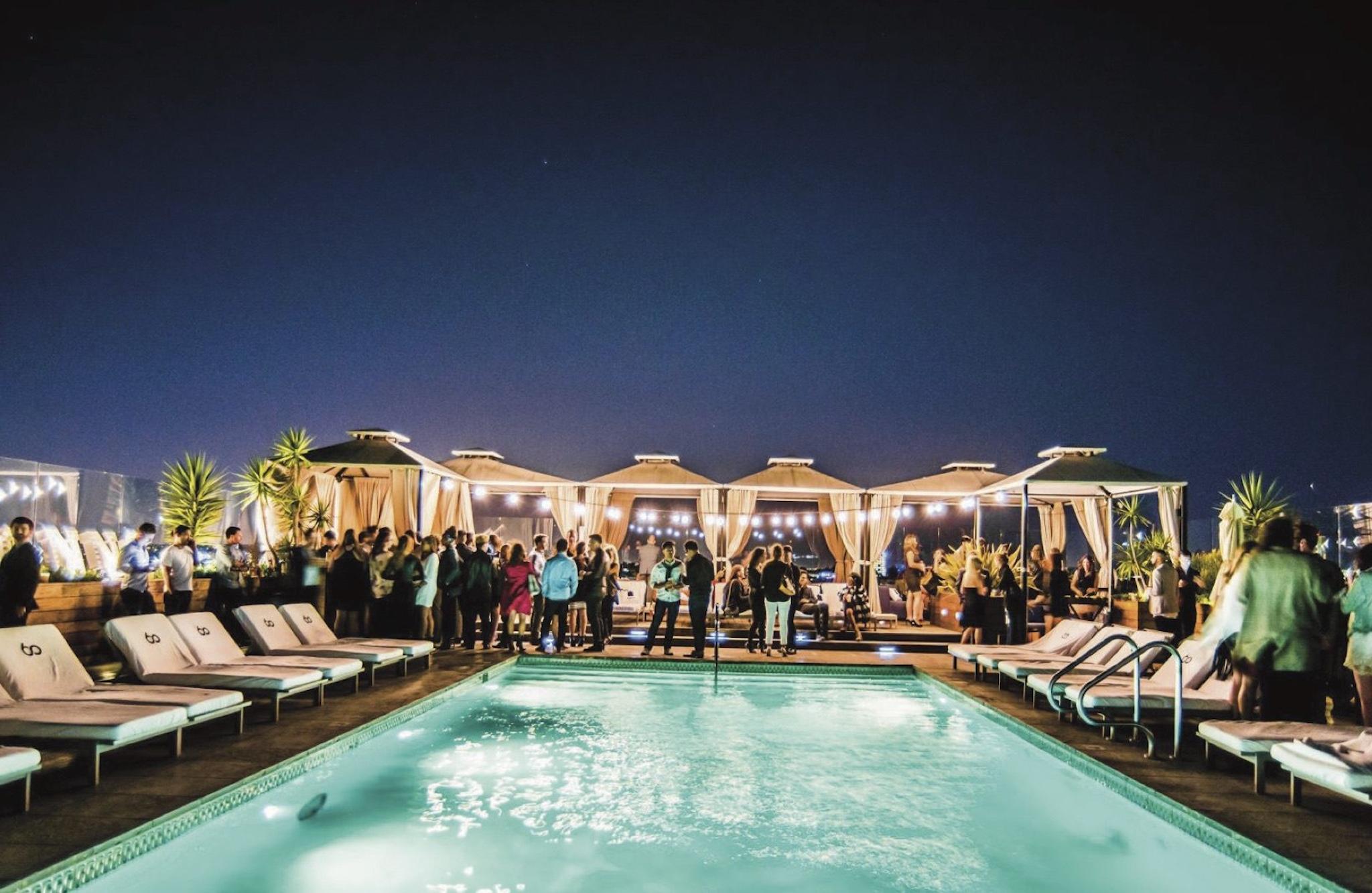 LA rooftop venues
