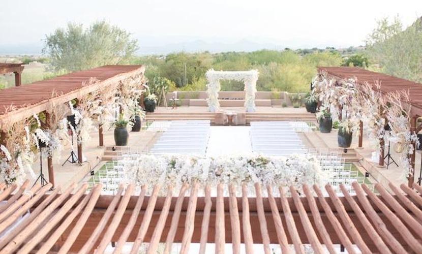 White wedding Scottsdale