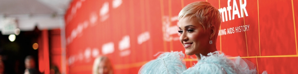 Katy Perry at amfAR fundraiser