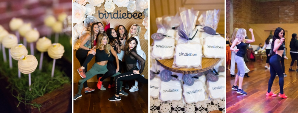 The Bella Twins birdiebee party