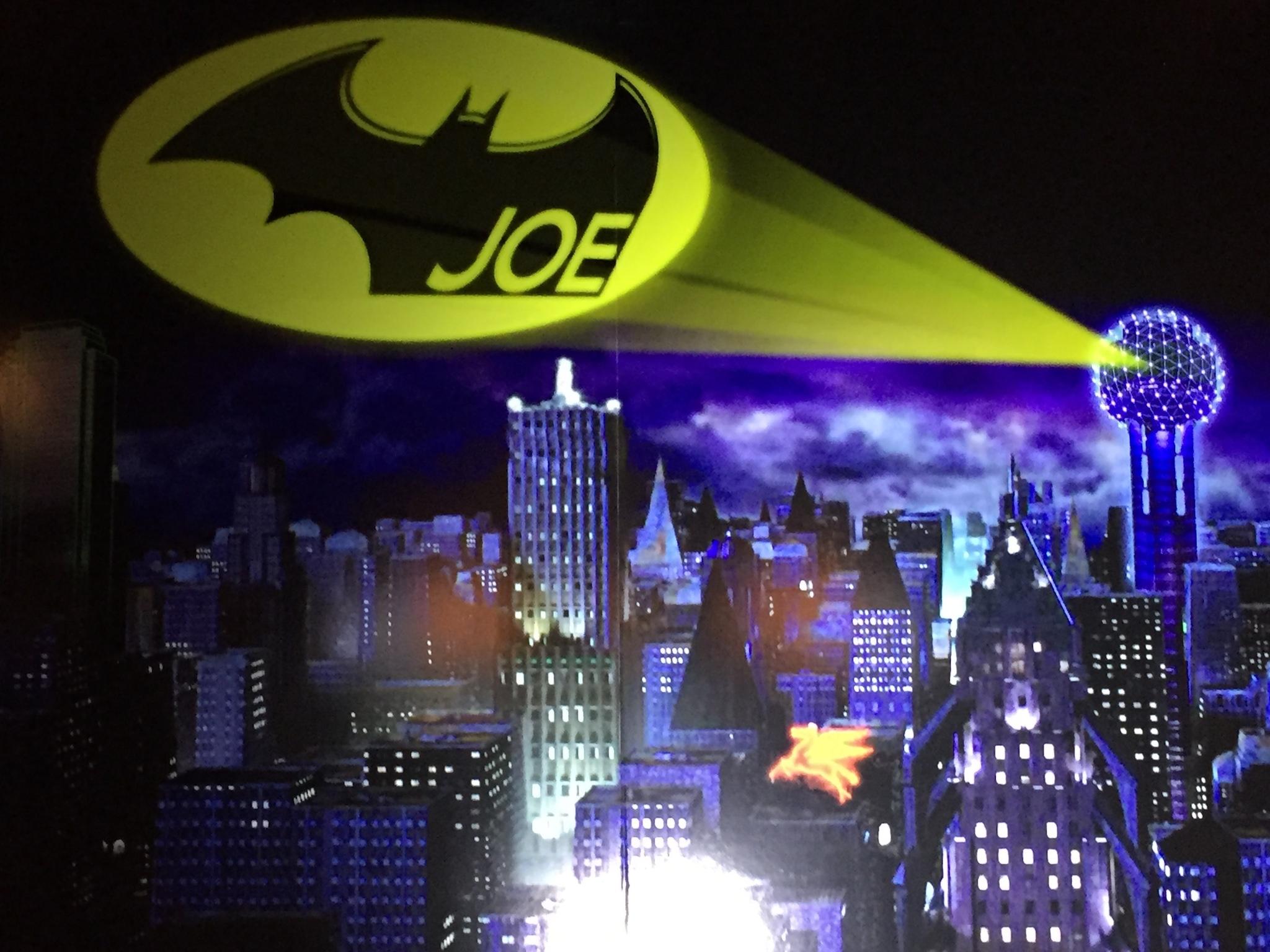 Batman Themed Bar Mitzvah