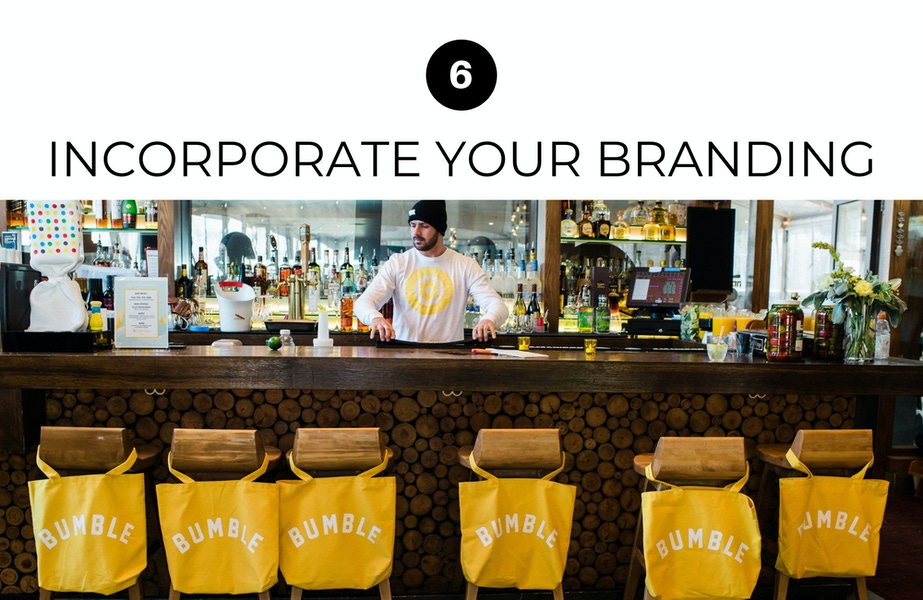 incorporate your branding