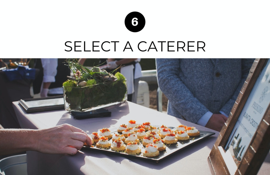 find a caterer