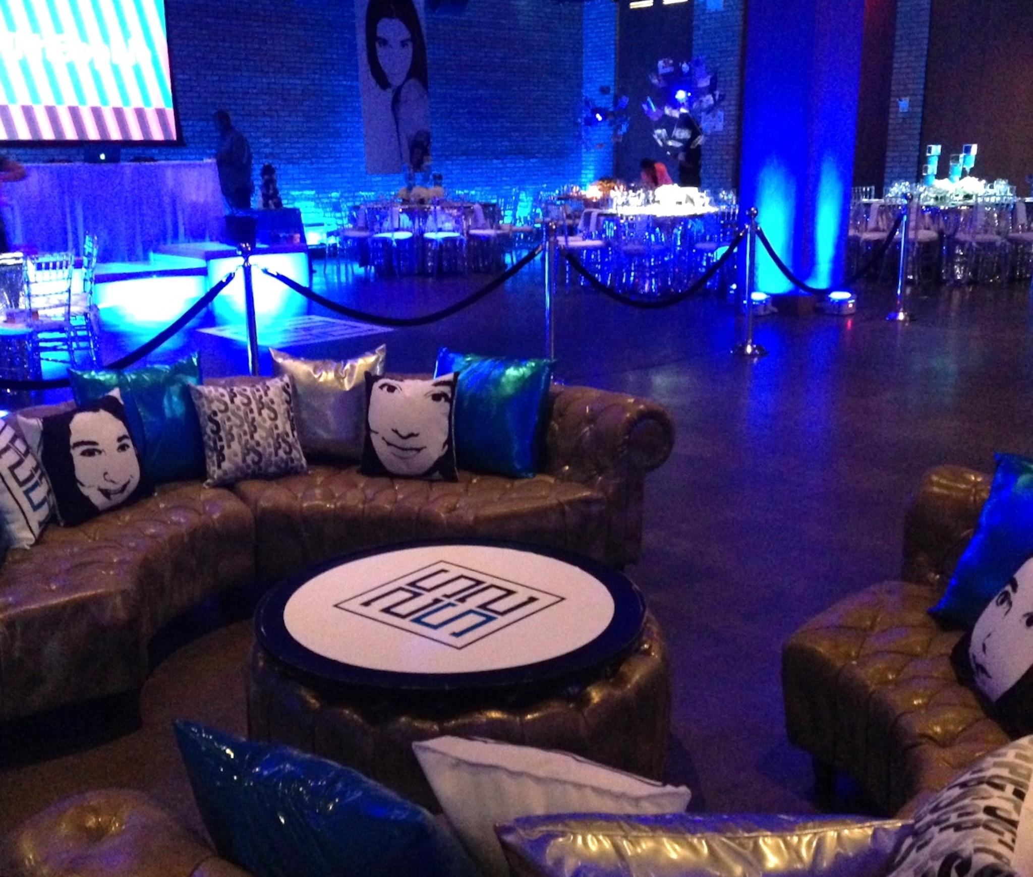 nightclub themed bar mitzvah