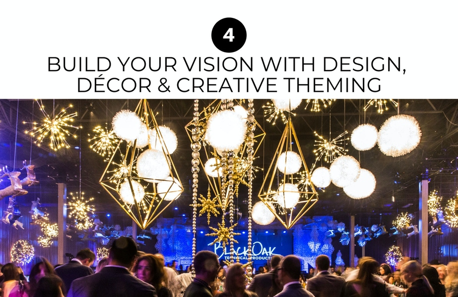 build your version with design, décor & creative theming