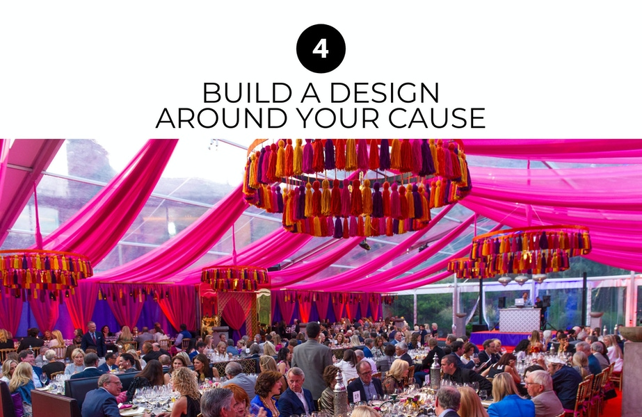 build a design around your cause
