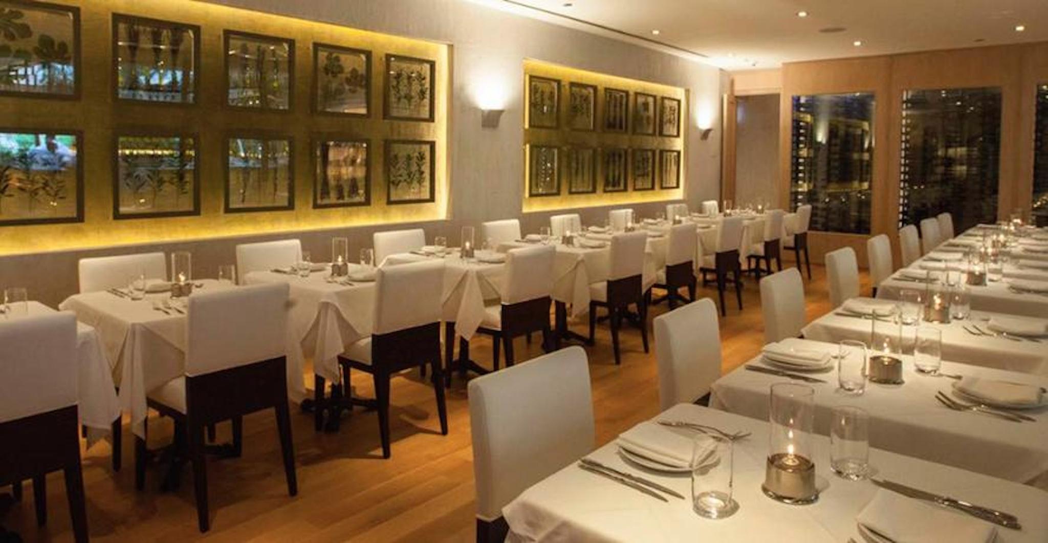 Wine Room at Fig & Olive