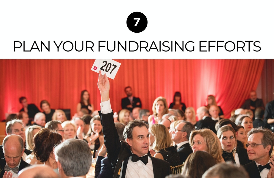 plan your fundraising efforts