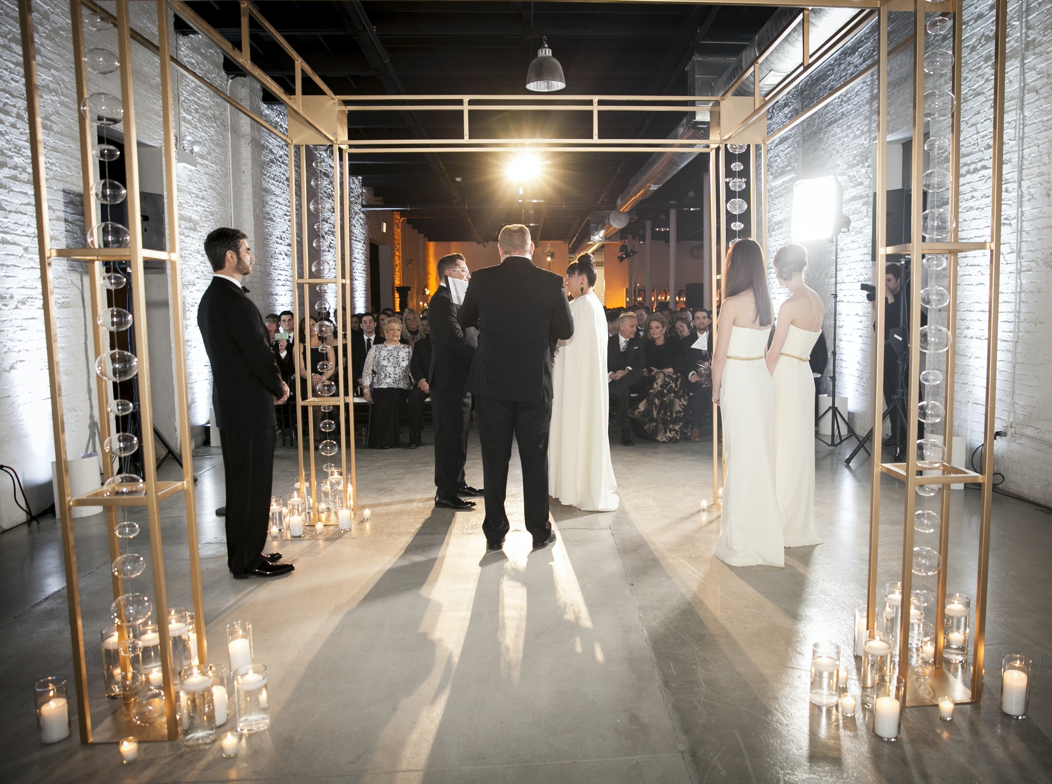 Wedding Aisle Ideas - Revel Fulton Market
