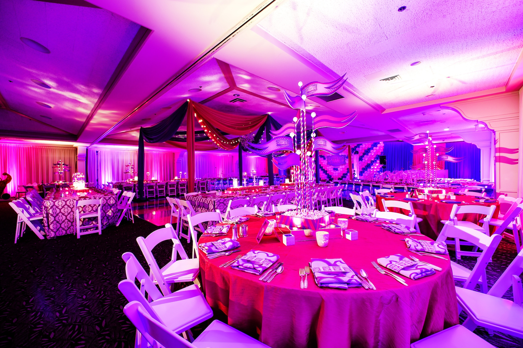 carnival themed bat mitzvah
