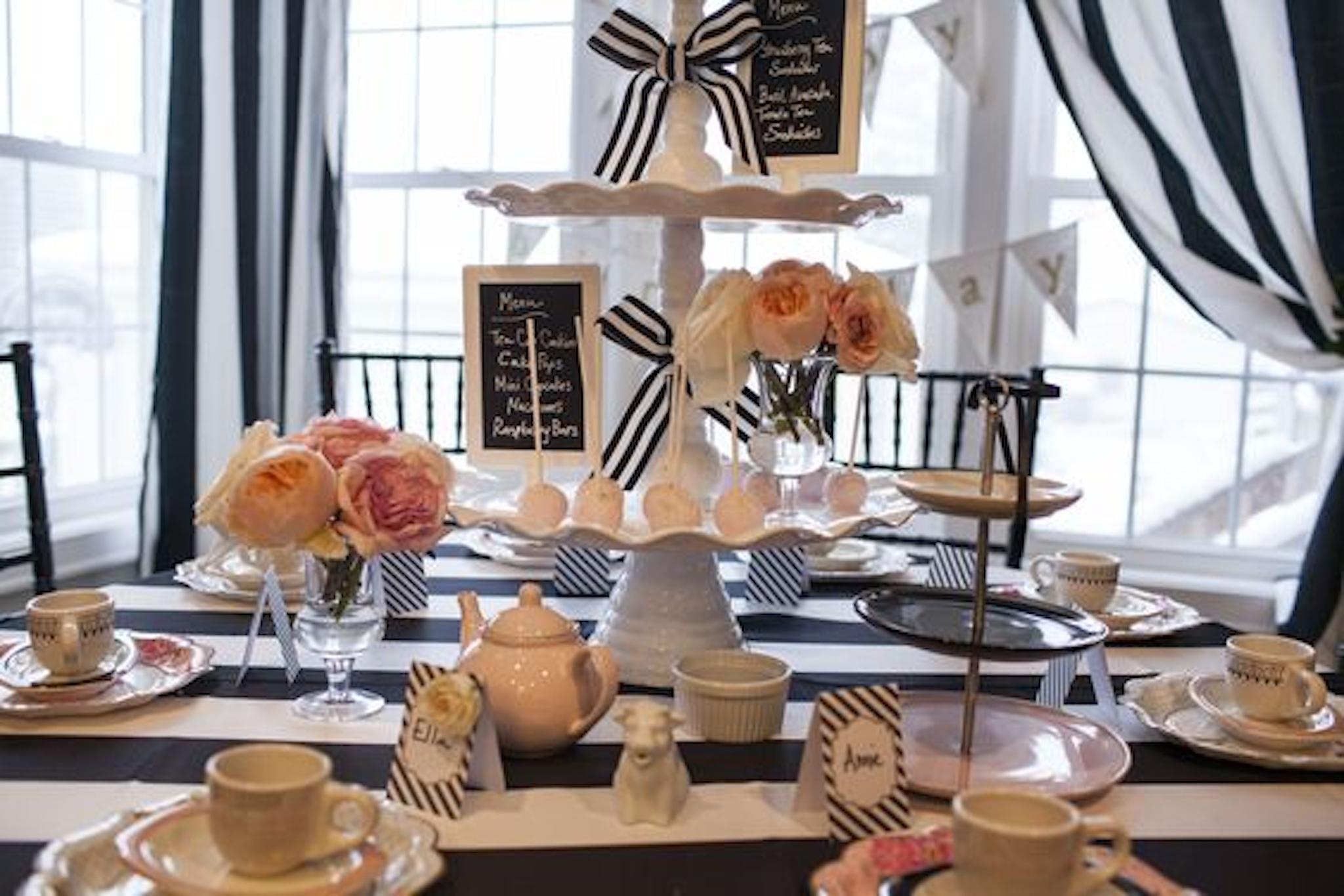 birthday party Idea table