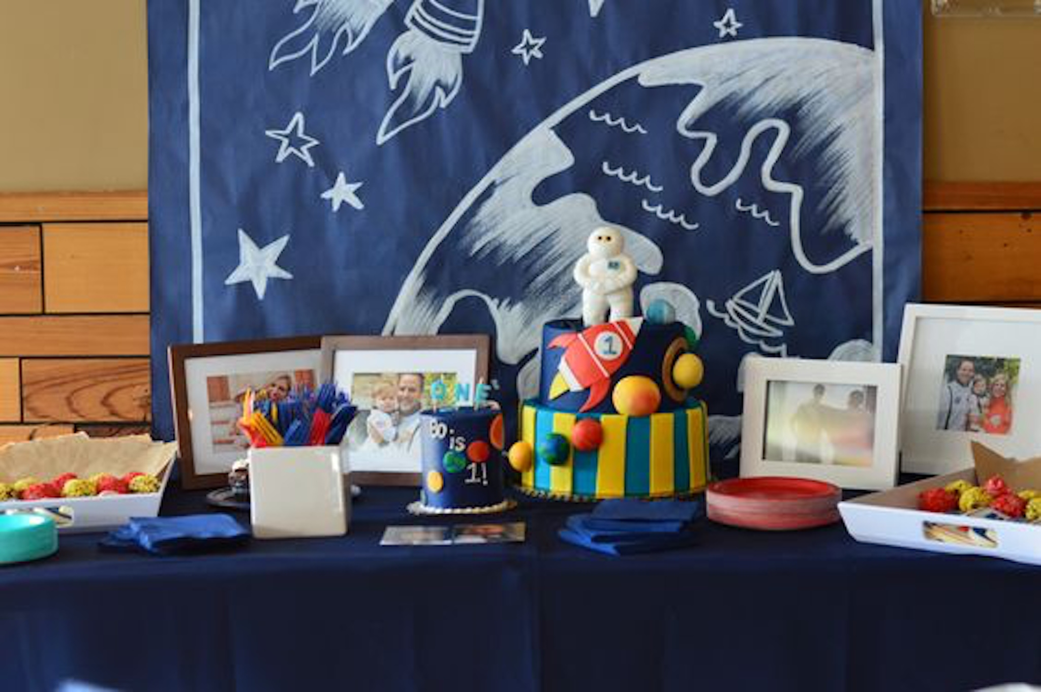 kids birthday party ideas out of this world