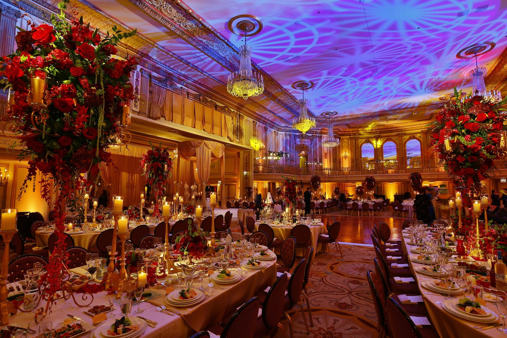 Best Chicago ballrooms - PALMER HOUSE HILTON