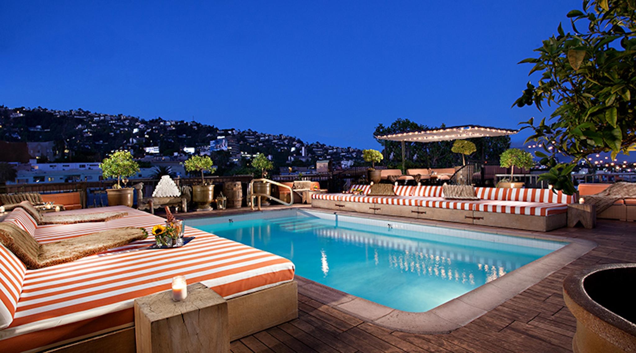 LA rooftop venue