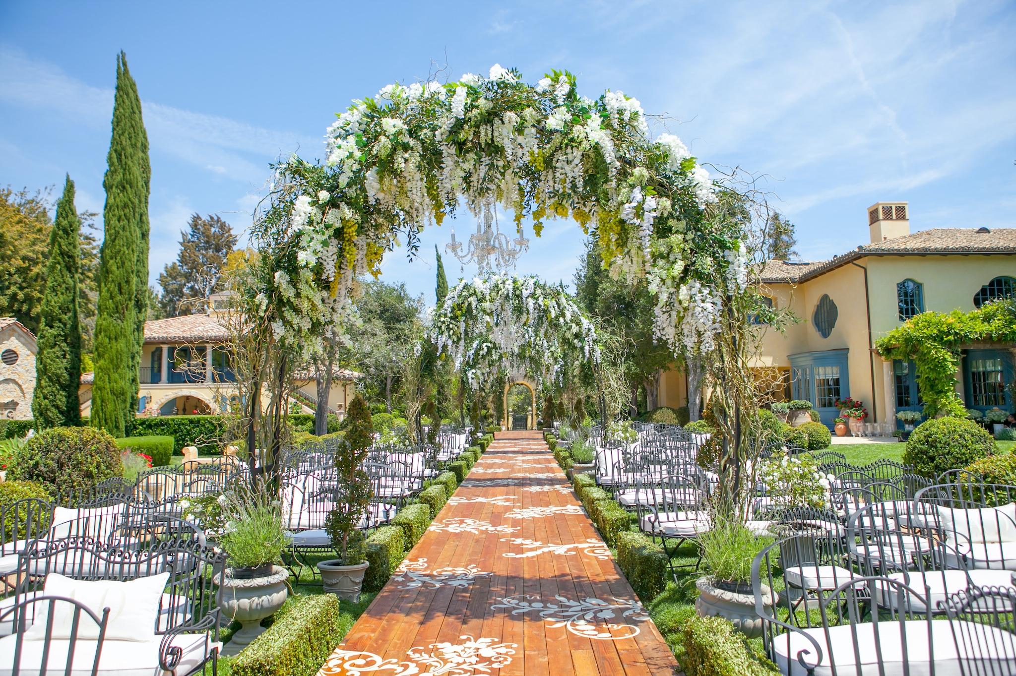 LA Event Designer Mark's Garden