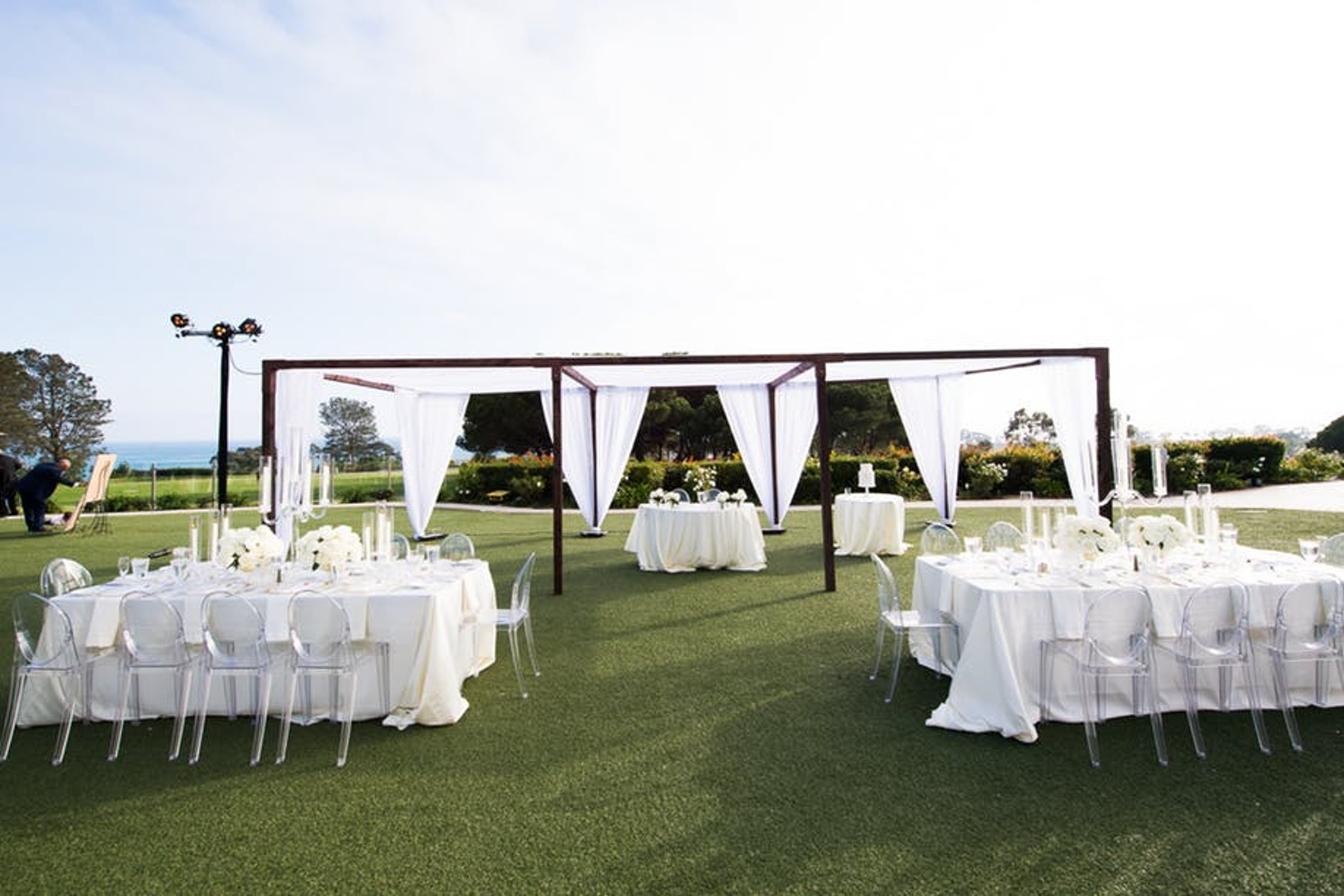 Outdoor wedding venue at Laguna Cliffs Marriott Resort & Spa